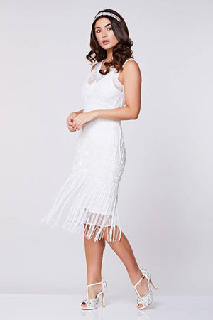 Victoria Fringe Flapper Dress