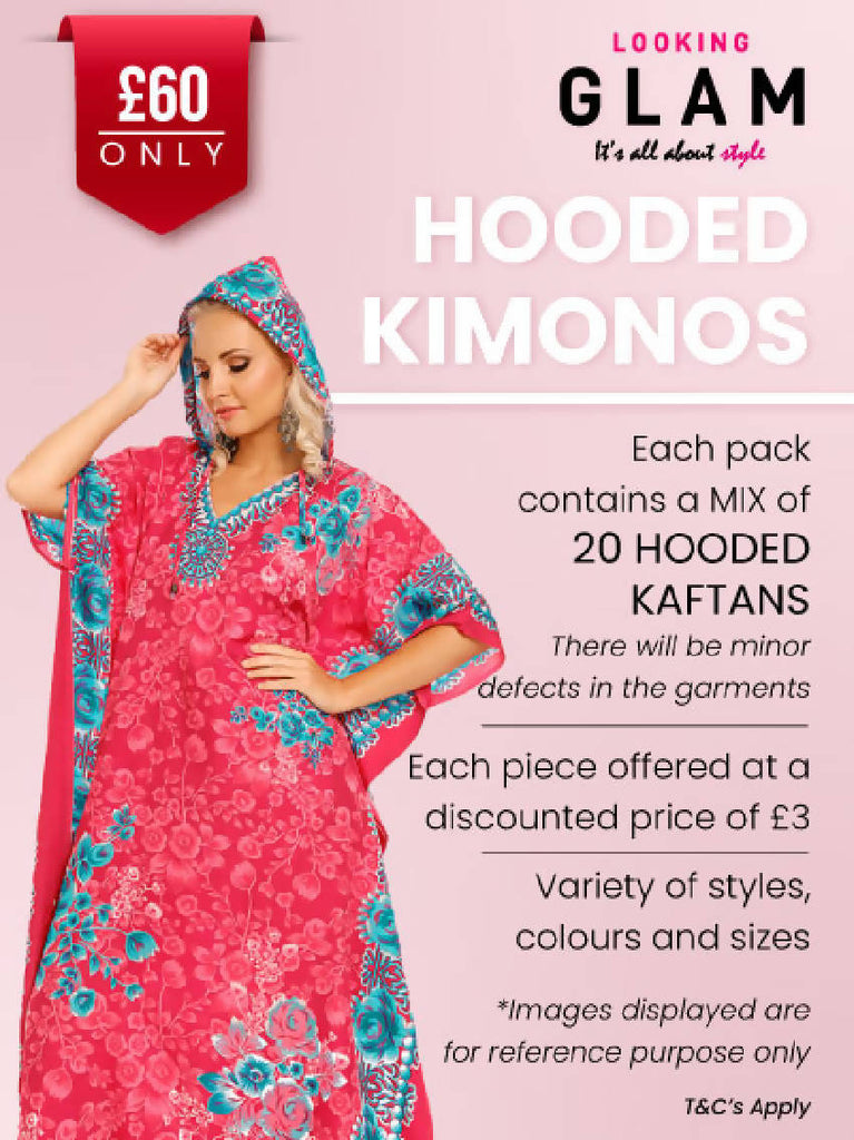 Hooded Kimonos Value Pack