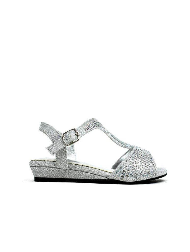 LSA-8063 PZ 314 LOW WEDGE HEEL STRAPPY SANDAL