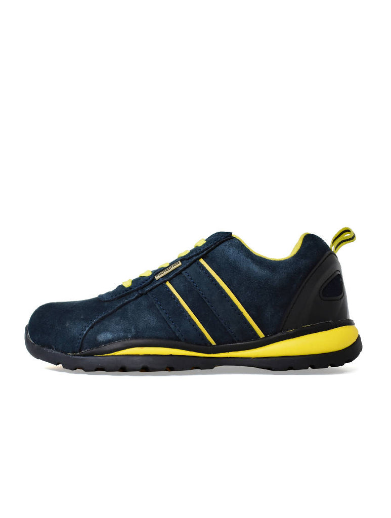 MTR-7603 CENTURY LACE UP TRAINER - NAVY BLUE - SUEDE - 8 PACK