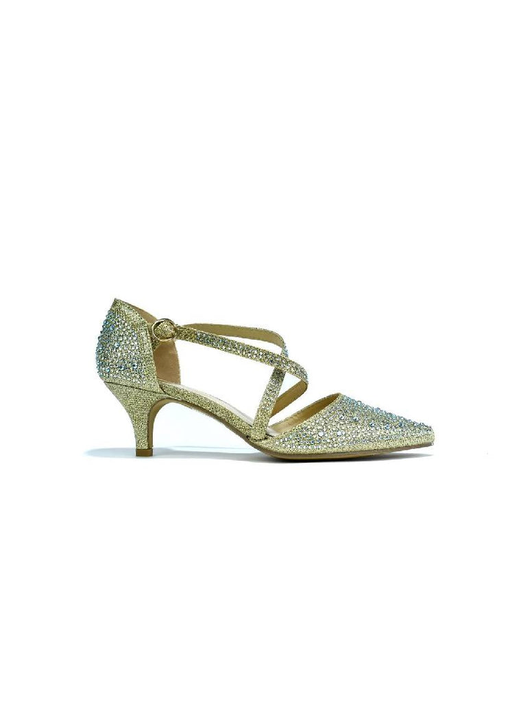 LSA-7778 TY1 POINTED TOE PIN BUCKLE SANDAL