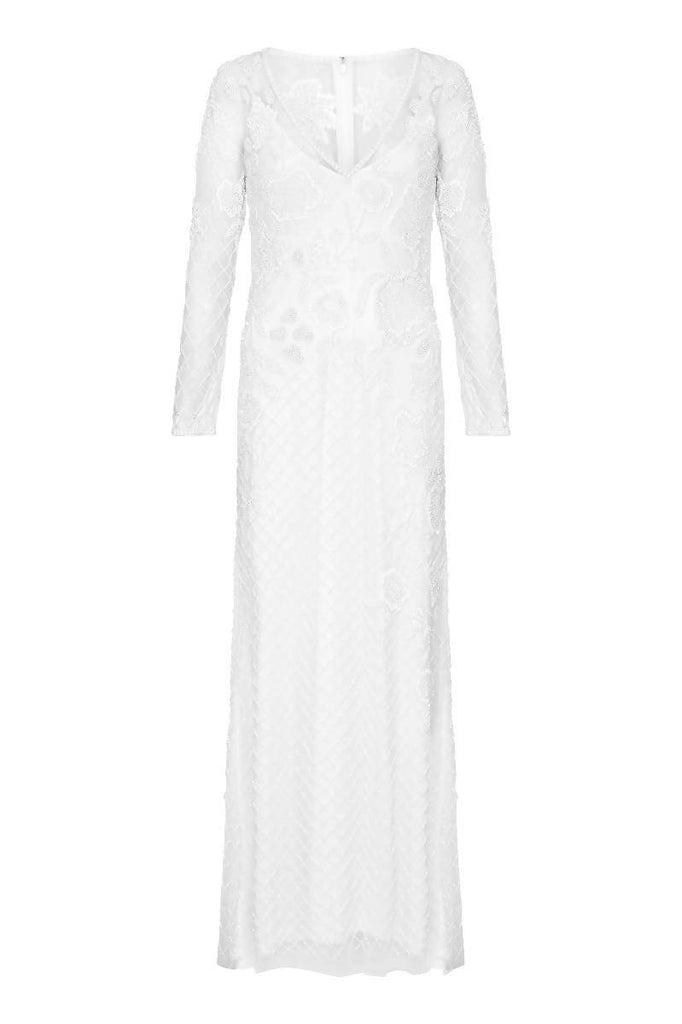 Polly Maxi Long Sleeved Wedding Dress