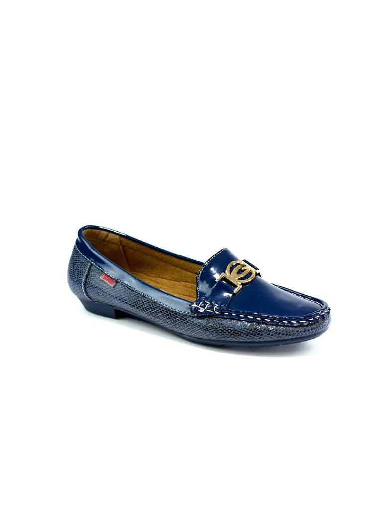 LSH-6904 3060 BUCKLE SLIP ON SHOES - BLUE - PACK OF 12 - SIZE 3 TO 8