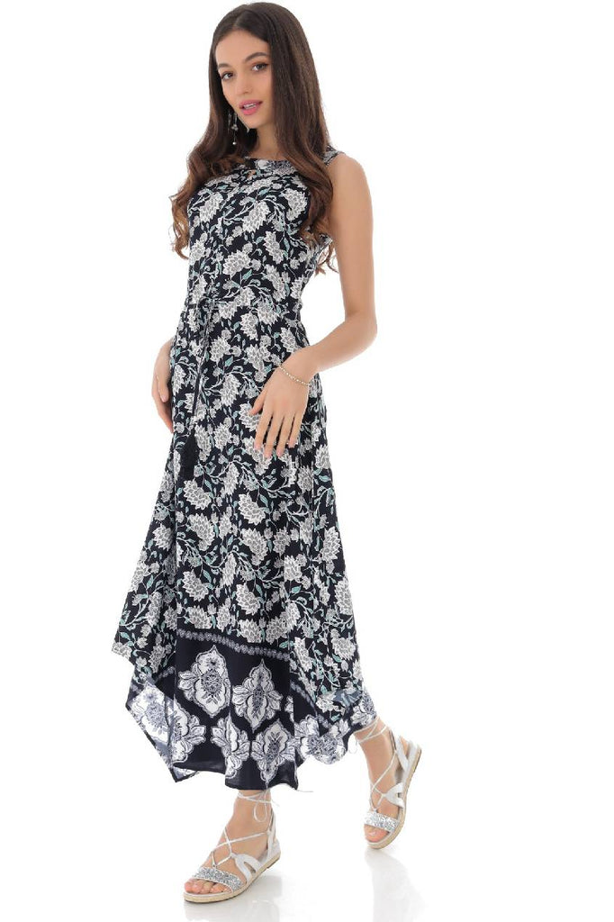 Printed summer maxi dress - Aimelia