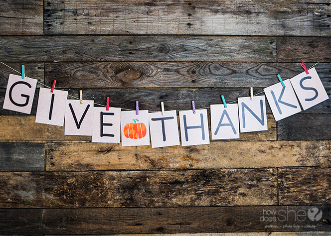 Give Thanks Countdown Banner