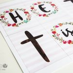 'He is Risen' Countdown to Easter Banner