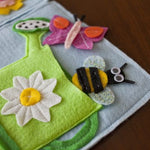 Spring Quiet Book Pattern - Flowers