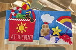 Summer Quiet Book Pattern - At The Beach