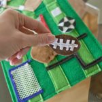 Summer Quiet Book Pattern - Play Ball