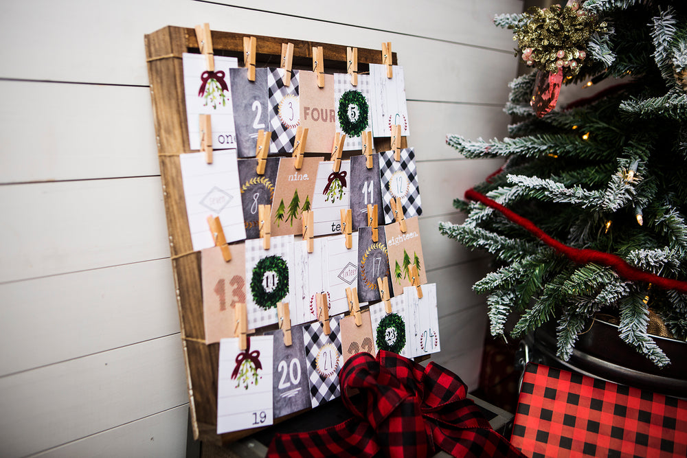 Farmhouse Style Christmas Printable Collection