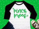 Pinch Proof design file (dxf, eps, png, svg) - perfect for vinyl shirt making