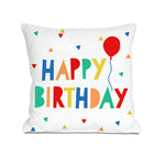 Happy Birthday Pillow Cover