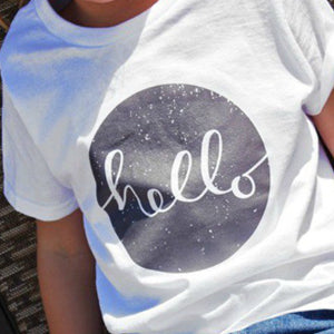T-shirt transfer - Hello