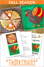 FALL Quiet Book Pattern - Thanksgiving