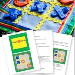 Quiet Book - Tic Tac Toe Pattern