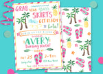 Luau Birthday Party Invitation