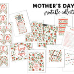 Mother's Day Breakfast in Bed Printable Bundle