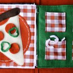 Quiet Book - Pizza Pattern