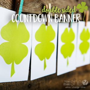 St. Patrick's Day Countdown Banner