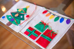 Winter Quiet Book Pattern - Christmas Morning