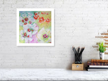 Load image into Gallery viewer, Orange Flowers with Whites