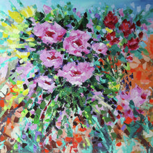 Load image into Gallery viewer, Pink Flowers in the Middle