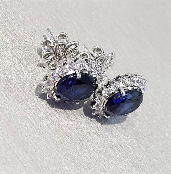Royal Blue Earring