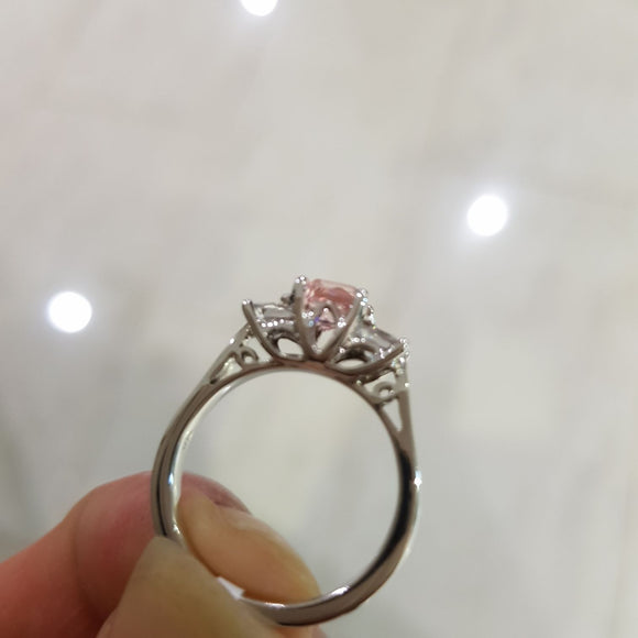 Trilogy Morganite Ring