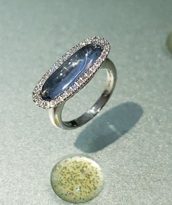 Fancy Aquamarine Ring