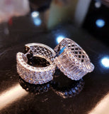Sparkling Loop Earring