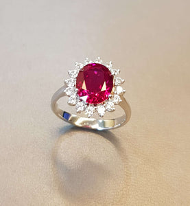 Perfect Ruby Ring