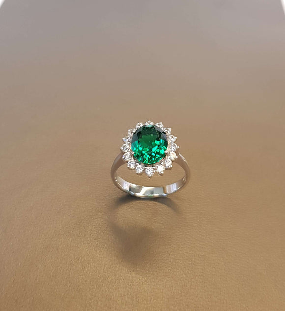 Perfect Emerald Ring