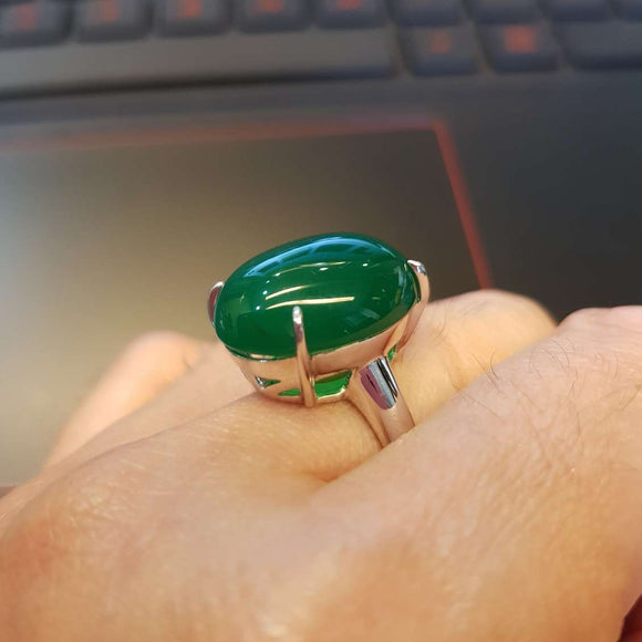 Classic Agate Ring