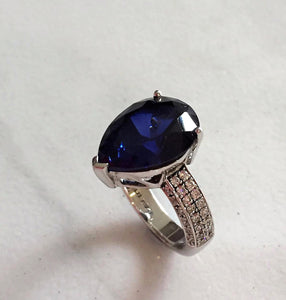 Intricate Sapphire Ring