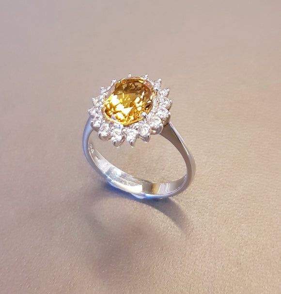 Perfect Citrine Ring