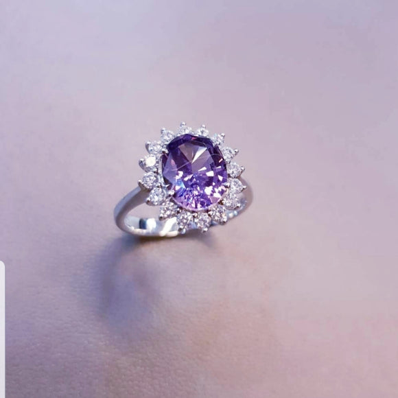 Perfect Alexandrite Ring