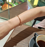 Rose Gold Cuff Bangle