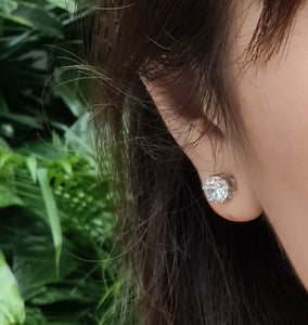 Stunning Solitaire Earring