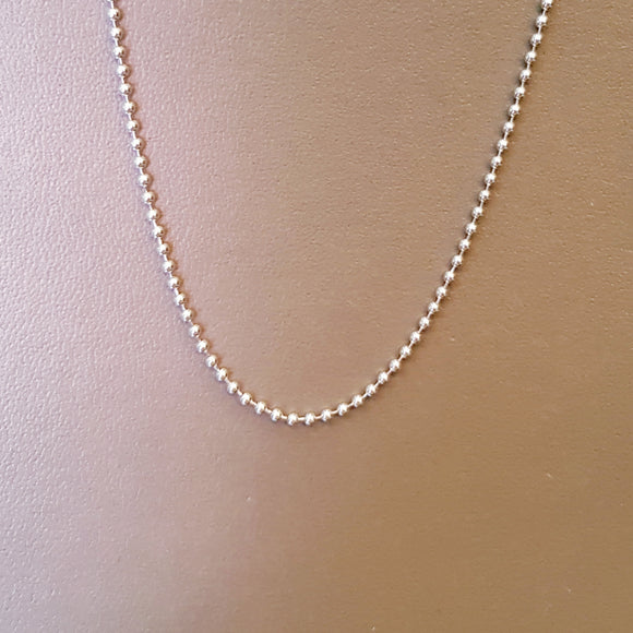 White Gold Chain