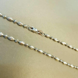 White Gold Design Chain