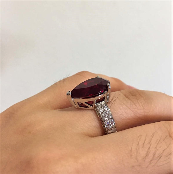 Intricate Ruby Ring