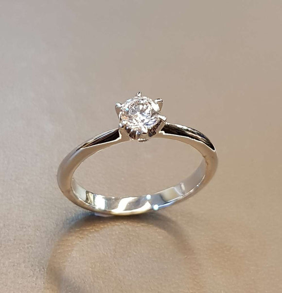 Brilliant Solitaire Ring