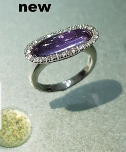 Fancy Amethyst Ring