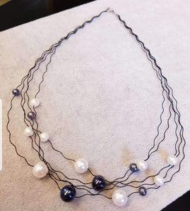 Fashionable Pearl Necklace