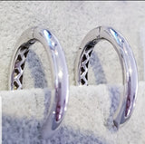 Plain Classic Oval Shape Loop