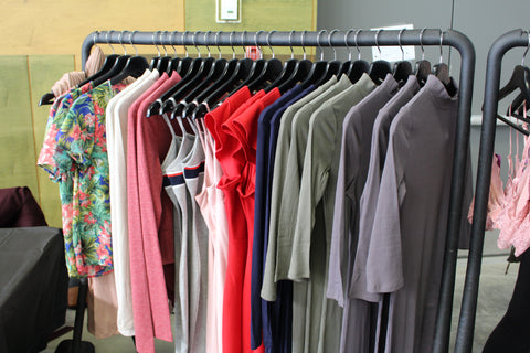 A selection of clothing available at Bloom Boutique