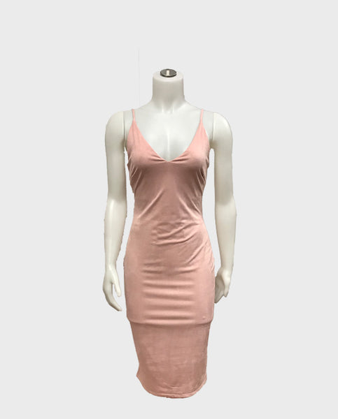 Bloom Boutique - Suede Cami Dress