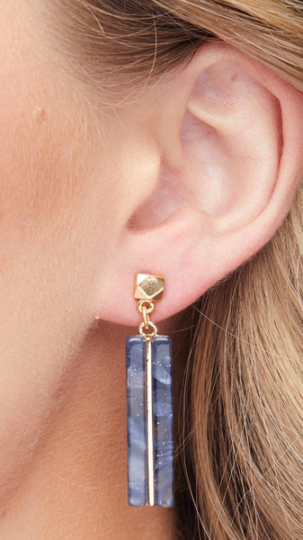 Foxy Originals Ella Earrings | plated in 14 karat gold | bloom boutique