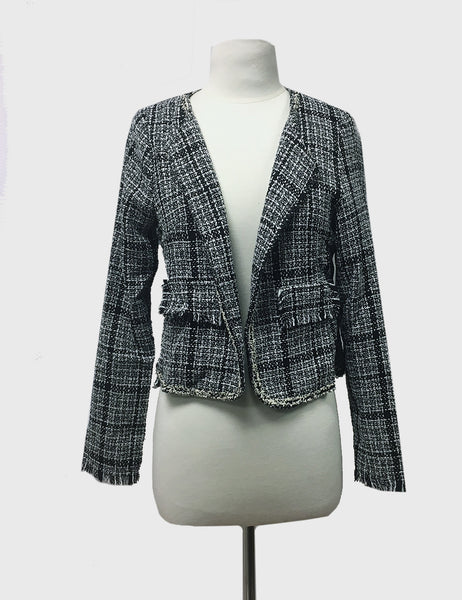 Women's Chanel Print Jacket | business wear | Bloom Boutique