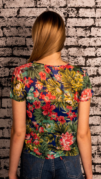 Bloom Boutique - Tropical Flower Top